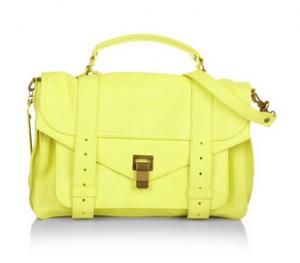 Proenza Schouler PS1 Medium Lux Lemon